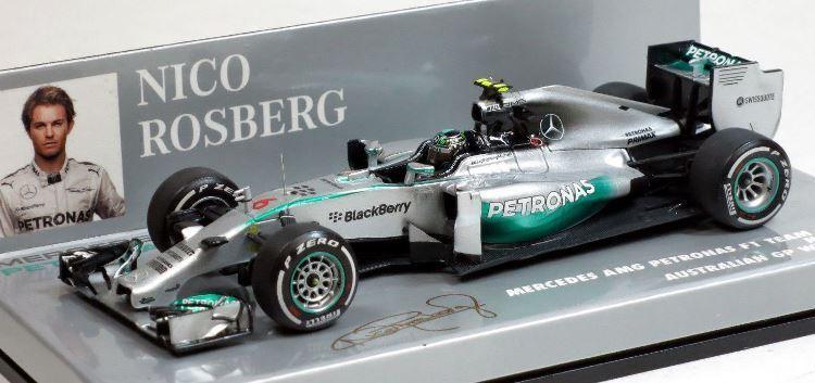2014 Mercedes AMG Petronas F1 Team W05-Nico Rosberg por Minichamps 410140006