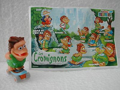 Jouet Kinder Les Cromignons Tecnico France 2003