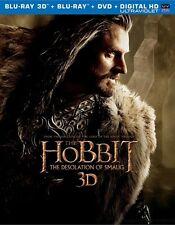 The Hobbit: The Desolation of Smaug (3D/Blu-ray/DVD, 5-Disc, Digital HD) W/ Slip