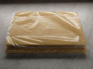 10 National Bee Hive Brood Dn4 Filaire Foundation Cire-afficher Le Titre D'origine Nous Prenons Les Clients Comme Nos Dieux