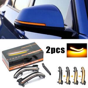 1-Coppia-Specchietto-Laterale-Sequenziale-Flash-Freccia-Luce-for-BMW-F20-F21