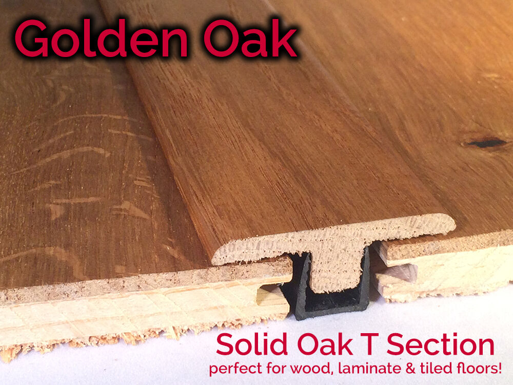 Real Solid T Section For Wood Floors Threshold Door Bar Profile GOLDEN OAK & Real Solid T Section For Wood Floors Threshold Door Bar Profile ... pezcame.com