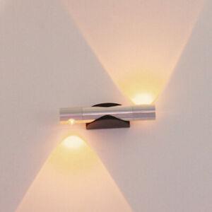 Modern Up Down Led Light Indoor Wall Lamp Lighting Corridor Bedroom Decor Uk Ebay