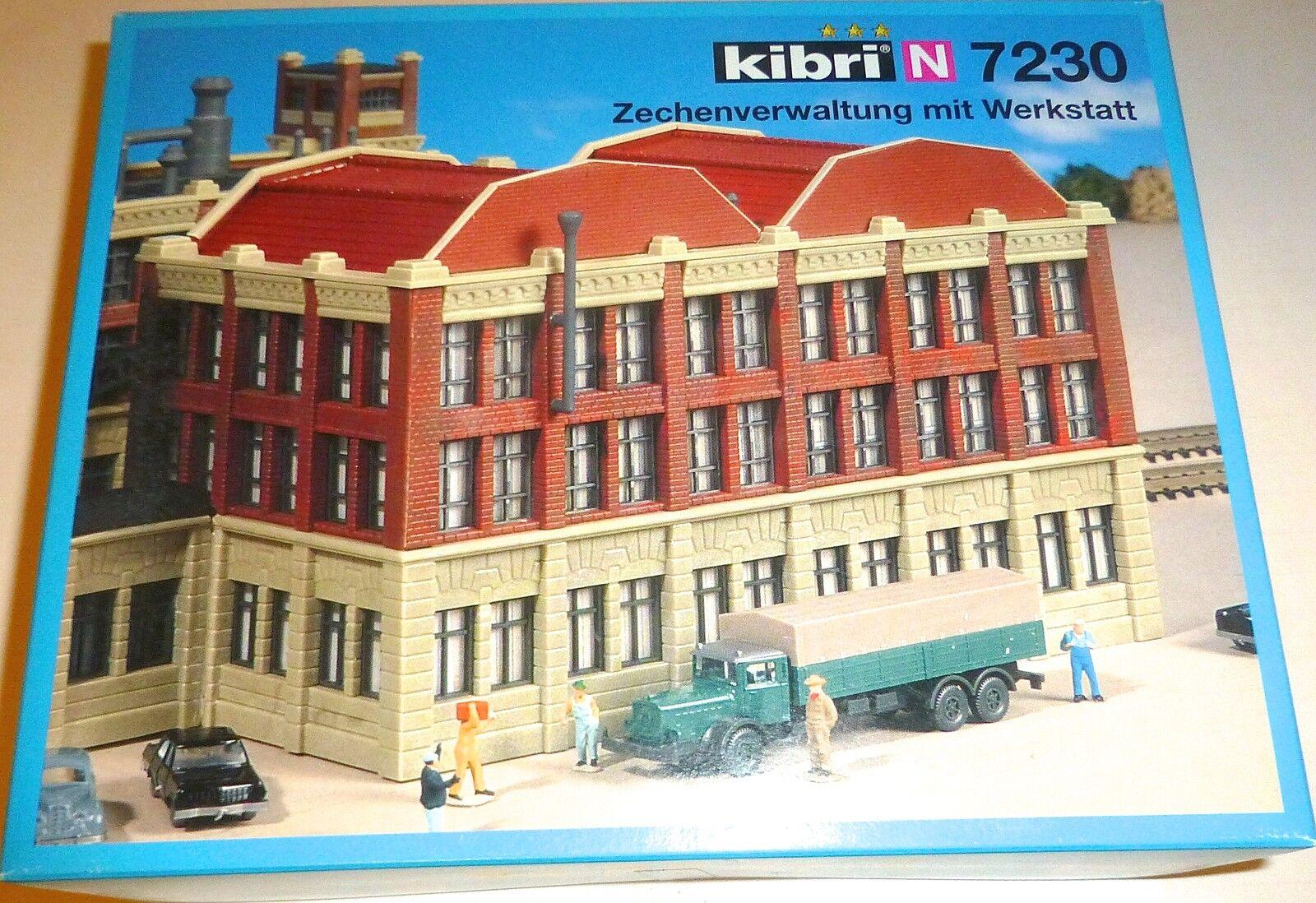Zechenverwaltung con officina kit di costruzione conf. orig. Kibri 7230 H0 1:87