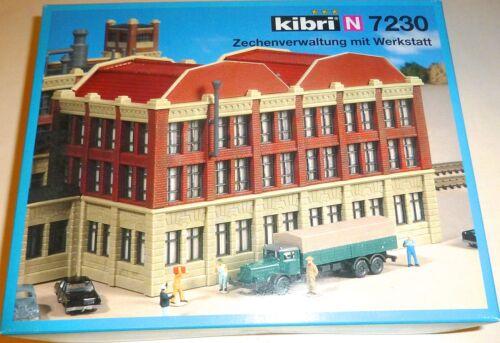 Zechenverwaltung mit Werkstatt Bausatz OVP KIBRI 7230 H0 1:87 Bausatz OVP  GD1 å