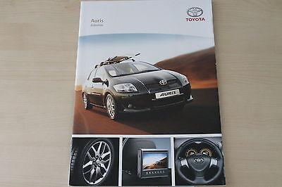 Toyota Auris Prospekt 07/2007 Zubehör 172304