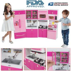 Kitchen-Playset-For-Girls-Pretend-Play-Refrigerator-Toy-Cooking-Set-Toddler-Kid