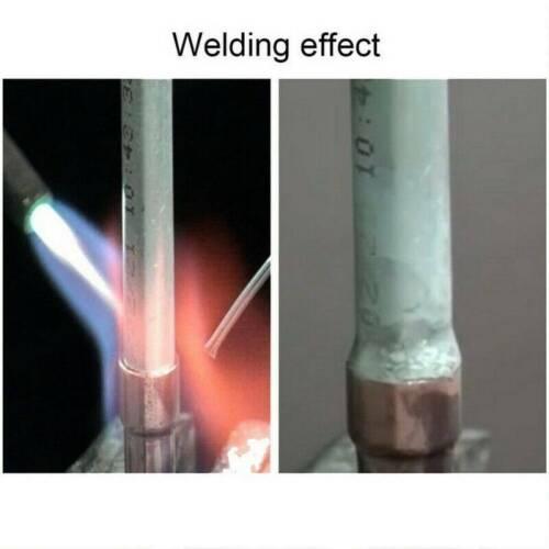 10PCS 33cm 2.0mm Solution Welding Flux-Cored Rods Aluminum Wire Brazing Tool ~
