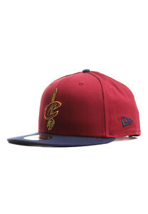 a98be064132 New Era NBA Team 9FIFTY Snapback Cap Cleveland Cavaliers Red Blue