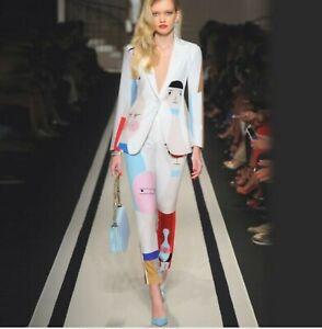 Fp 2019 Femme Inspiration Designer Joli Motif Blazer + Pantalon S-afficher Le Titre D'origine Sang Nourrissant Et Esprit RéGulateur