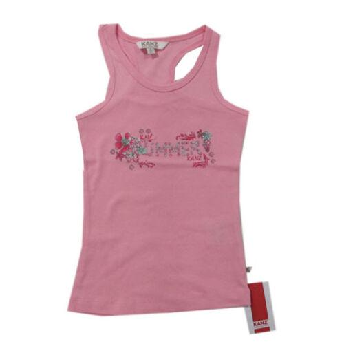 Kanz MAGLIETTA T-shirt top rosa travi shirt Estate Bambina Taglia 92,98,104,110,116,152