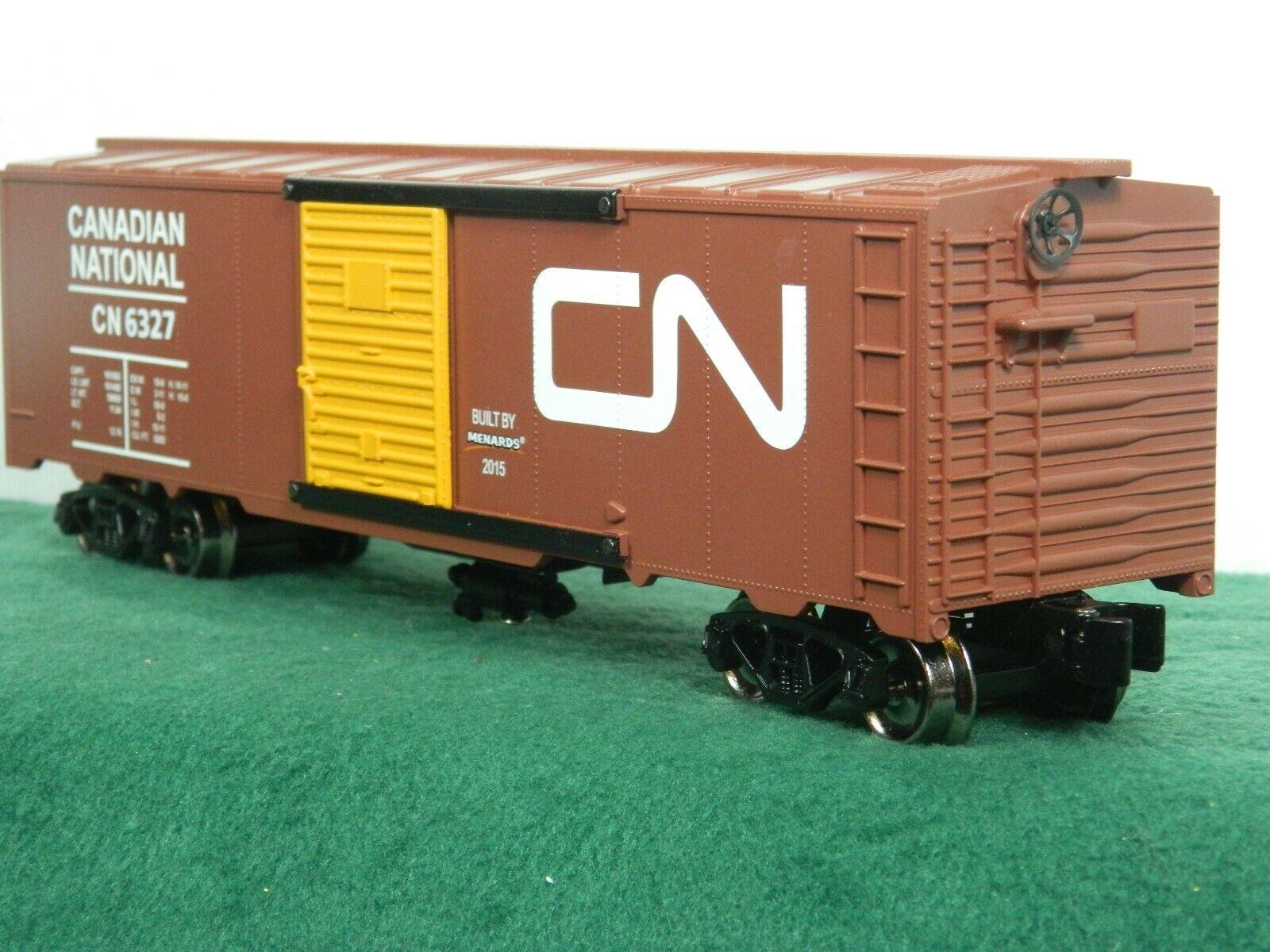 MENARD'S SEMI-SCALE CANADIAN NATIONAL 40ft SINGLE DOOR BOX CAR NIB