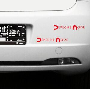 2-Aufkleber-20cm-Auto-Heck-Tuer-Fenster-Spiegel-Tattoo-Folie-Depeche-Mode-Spirit