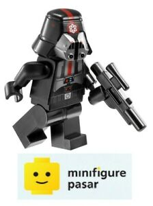 sw414-Lego-Star-Wars-9500-Sith-Trooper-Black-Minifigure-w-Blaster-New