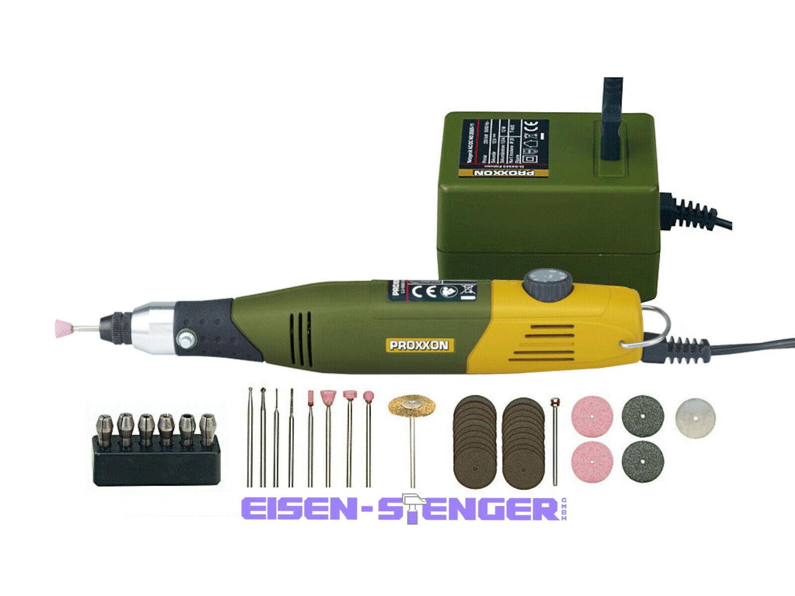 PROXXON 28515 Modellbauer- und Gravierset mit MICROMOT 60 E