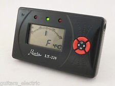 DIGITAL TUNER + LC Needle Display for ELECTRIC GUITAR, BASS, VIOLIN & CHROMATIC
