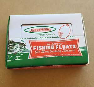 Clear Fishing Floats / Bobbers 12 Pcs. One Dozen Small 1-1/4""