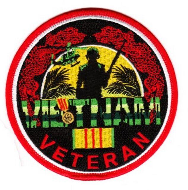 """Vietnam Veteran 4"""" Patch"""