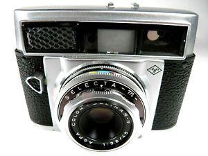 Vintage-AGFA-SELECTA-M-35mm-Rangefinder-film-camera-Motore-Drive-MADE-IN-GERMANY