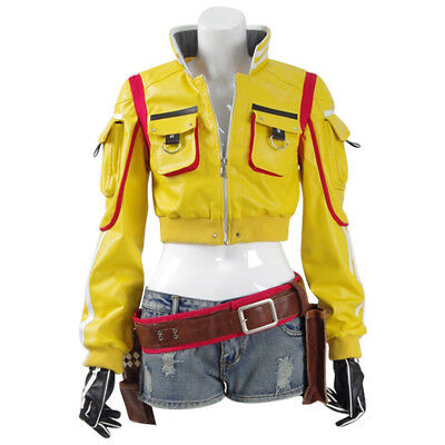 Final Fantasy XV FF 15 Cindy Aurum Jacket Full Suit  Cosplay Costume
