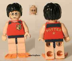 LEGO-Harry-Potter-in-Tournament-Swimsuit-and-flippers-Minifigure-4762-Rare-NEW