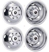 17 Dodge Ram 3500 8 Lug Steel Wheel Simulator Rim Liner Covers 4 Over The Lug ©