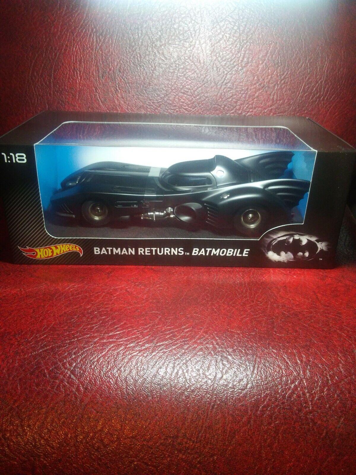 Hot Wheels Batman Returns Batmobile Die Cast véhicule échelle 1 18 2015