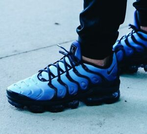 Nike Air Vapormax Plus Obsidian Photo Blue 924453-401 Mens Sz 12 ... 5b73d926f42