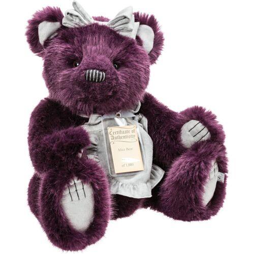 SUKi 17131 Alice Bär 46 cm Limited Edition Sammler Bär Silver Tag Bears