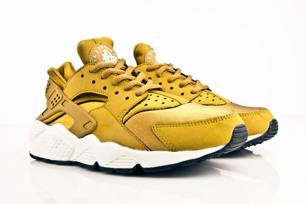 NIKE AIR HUARACHE BRONZINE BRONZE GOLD ALL SIZES 4-9 LIMITED EDITION NEU LOOK