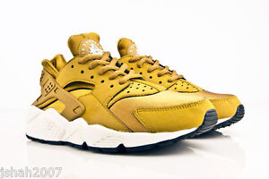 low priced 35401 7ce17 Image is loading NIKE-AIR-HUARACHE-BRONZINE-BRONZE-GOLD-ALL-SIZES-