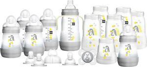 MAM-Easy-Start-Bottle-Set-Large-Grey-with-Penguins-1-2-3-6-12-Packs