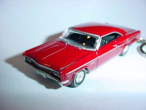 NEW-3D-RED-1966-CHEVROLET-IMPALA-SS-CUSTOM-KEYCHAIN-keyring-key-66-039-super-sport