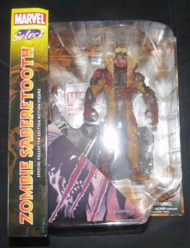 Marvel Select Zombie Sabertooth Diamond Select Action Figure