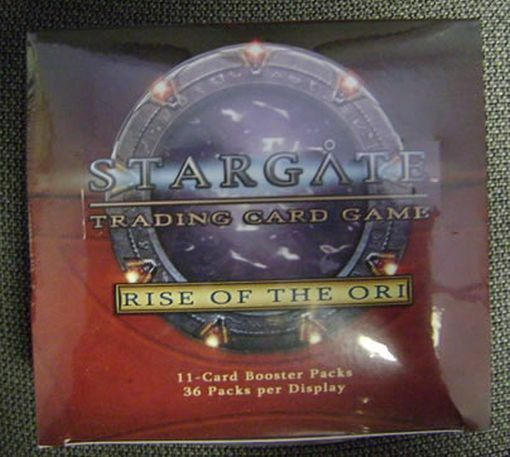 Stargate Trading Card Game The Ori Booster Box Rise Of Sellado