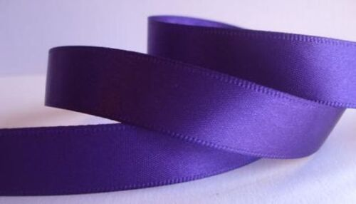 Double Face Satin Ribbon 1 1//2 inch x 5 yards 15 feet of ribbon 34 COLORS