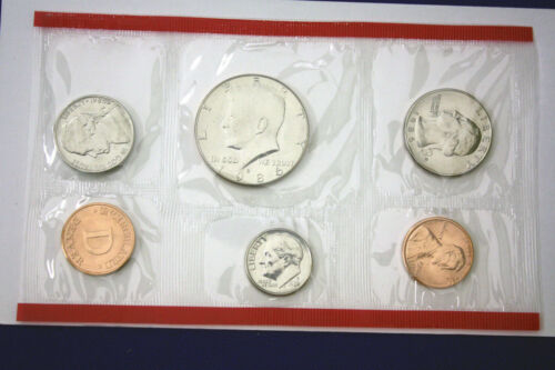 MINT SETS ISSUED BY U.S MINT 1986 UNCIRCULATED Genuine U.S