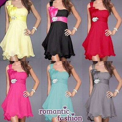 ♥ 6 Farben Größe 34-46 Abendkleid Cocktailkleid Ballkleid neu Sofort lieferbar ♥