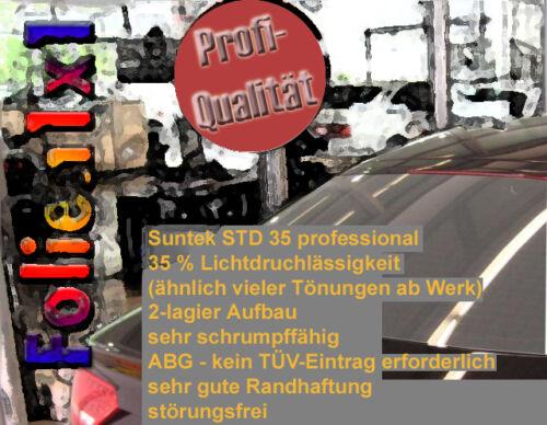 18,09€//qm Auto Tönungsfolie hell schwarz 35/% ähnlich wie Werkstönung ABG 2-lagig