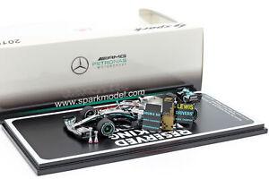1:43 Minichamps 417191144 Mercedes AMG F1 W10 Hamilton #44 Germany GP 2019