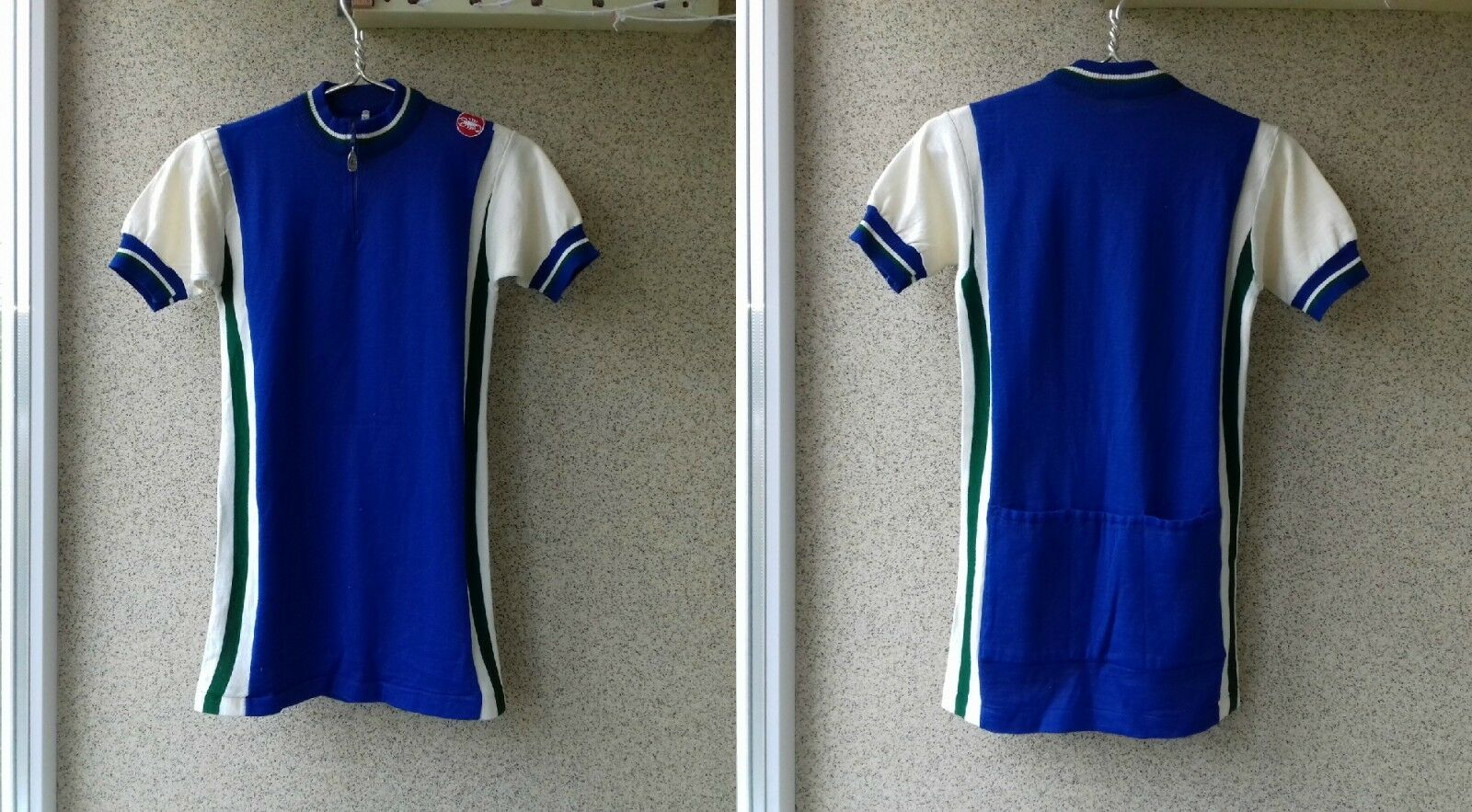 Castelli Cycling 1975 1980 Vintage shirt 5 Jersey OLD ITALY Rare Very Camiseta
