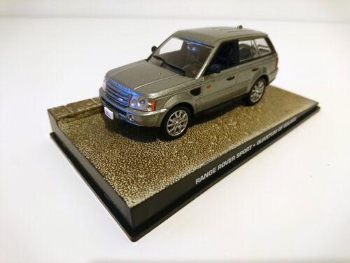 Range Rover JAMES BOND 007 Quantum of Solace 1:43 IXO DIECAST MODEL CAR DY079