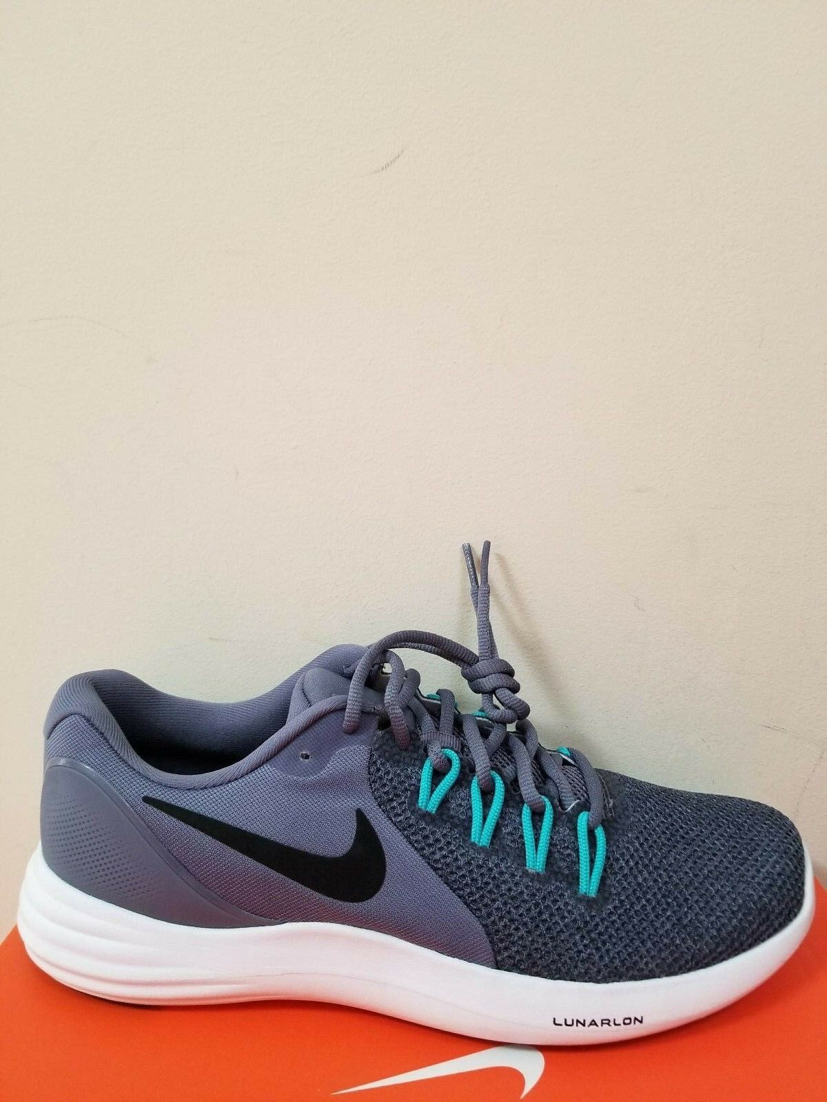 Nike Lunar Apparent Running Zapatos para hombre Talla 8 Nuevo En Caja