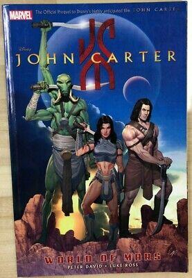 Luke Ross Peter David Excellent John Carter: The World Of Mars