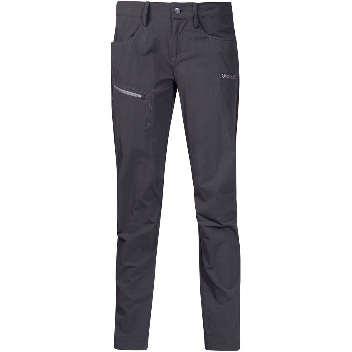 Bergans Moa LADY PANT Solid Charcoal Solid grigio Taglia XL Nuovo