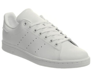 Homme-Adidas-Stan-Smith-Baskets-Triple-Blanc-Baskets-Chaussures