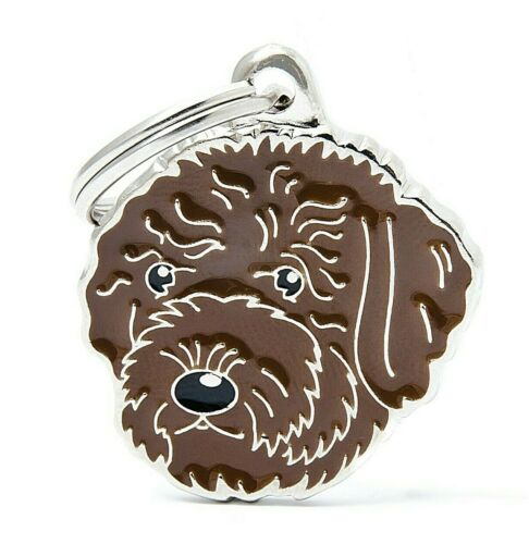 89 Keyring - Engraved FREE Personalised Lagotto Romagnolo Dog ID Tag