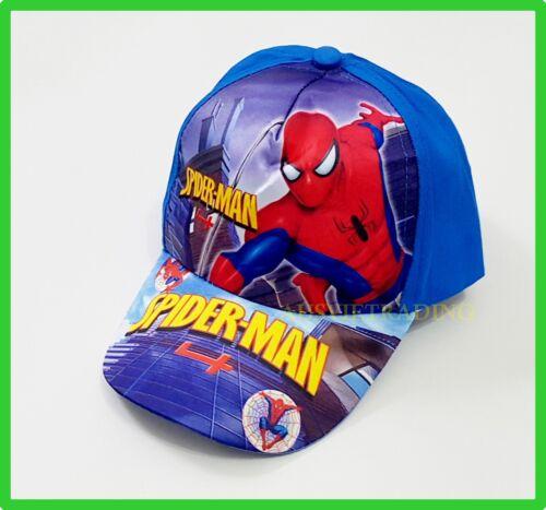 Brandnew Spiderman boys kids girls Cap Hat Brand new cotton