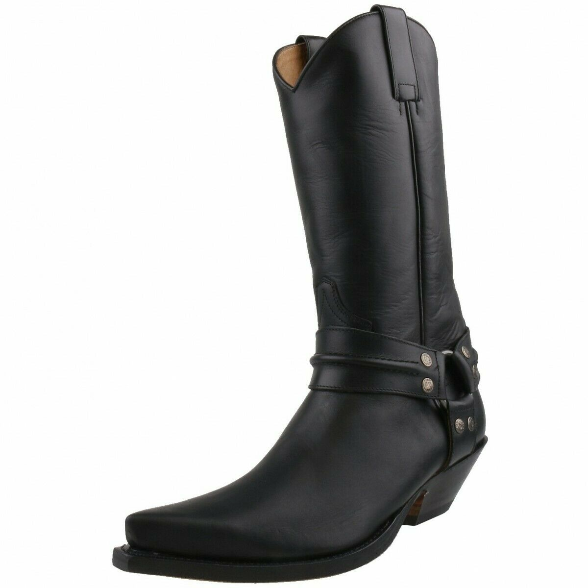 Nuevo sendra botas zapatos caballero 3305 Biker botas de cuero botas de vaquero negro