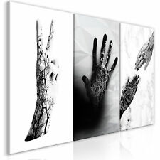 LOVE SCHWARZ WEISS Wandbilder xxl Bilder Vlies Leinwand m-A-0861-b-a